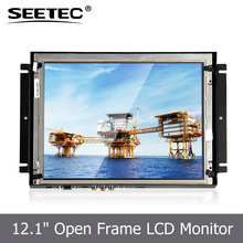 Wide Sunlight Readable LCD LED Open Frame 12.1'' best touch screen monitor for gaming