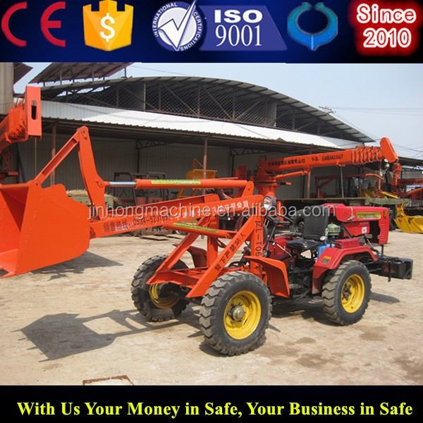 Garden Tractor With 4 In 1 Bucket Loader From China Supplier Buy Farm Tractors In China Garden