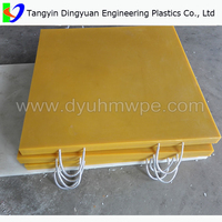 High load capacity UHMWPE crane track pad, truck crane lift loader SUPPLIER