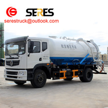 China Good Performance Dongfeng Sanitation Suction -type Sewer Scavenger Suction Sewage Truck