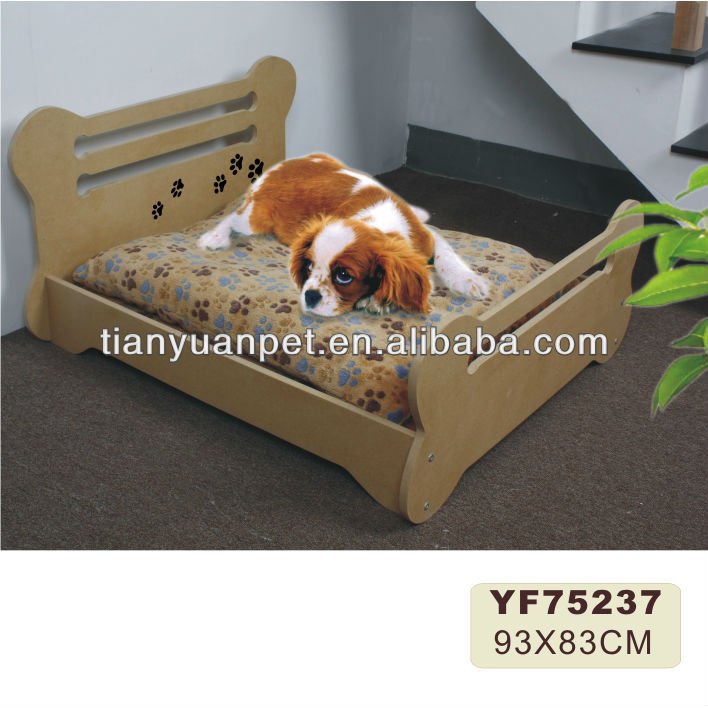 Luxury pet wooden beds (YF75237)