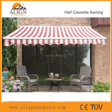 Waterproof Folding Electric Used Aluminum Awnings /Markise for sale