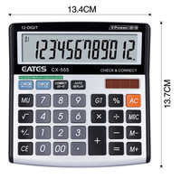 Mini Desk Type good quality check function calculator