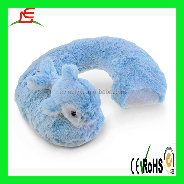 hot sale funny animal plush animal U shape neck travel pillow