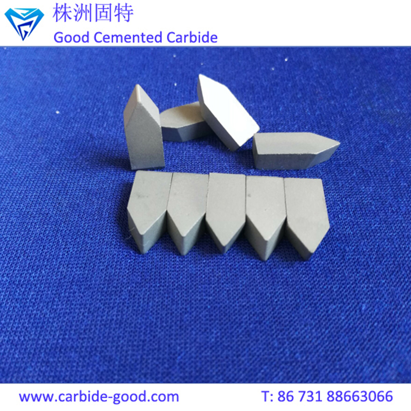 YG8 C120 Cemented Carbide Brazing Tips for Customized Shape