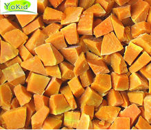 wholesale products of high quality and organic frozen diced pumpkin