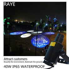 Hot selling High Definition Led Gobo Logo Projector 15w20w30w40w outdoor waterproof IP65 Roating Manufacturers direct supply