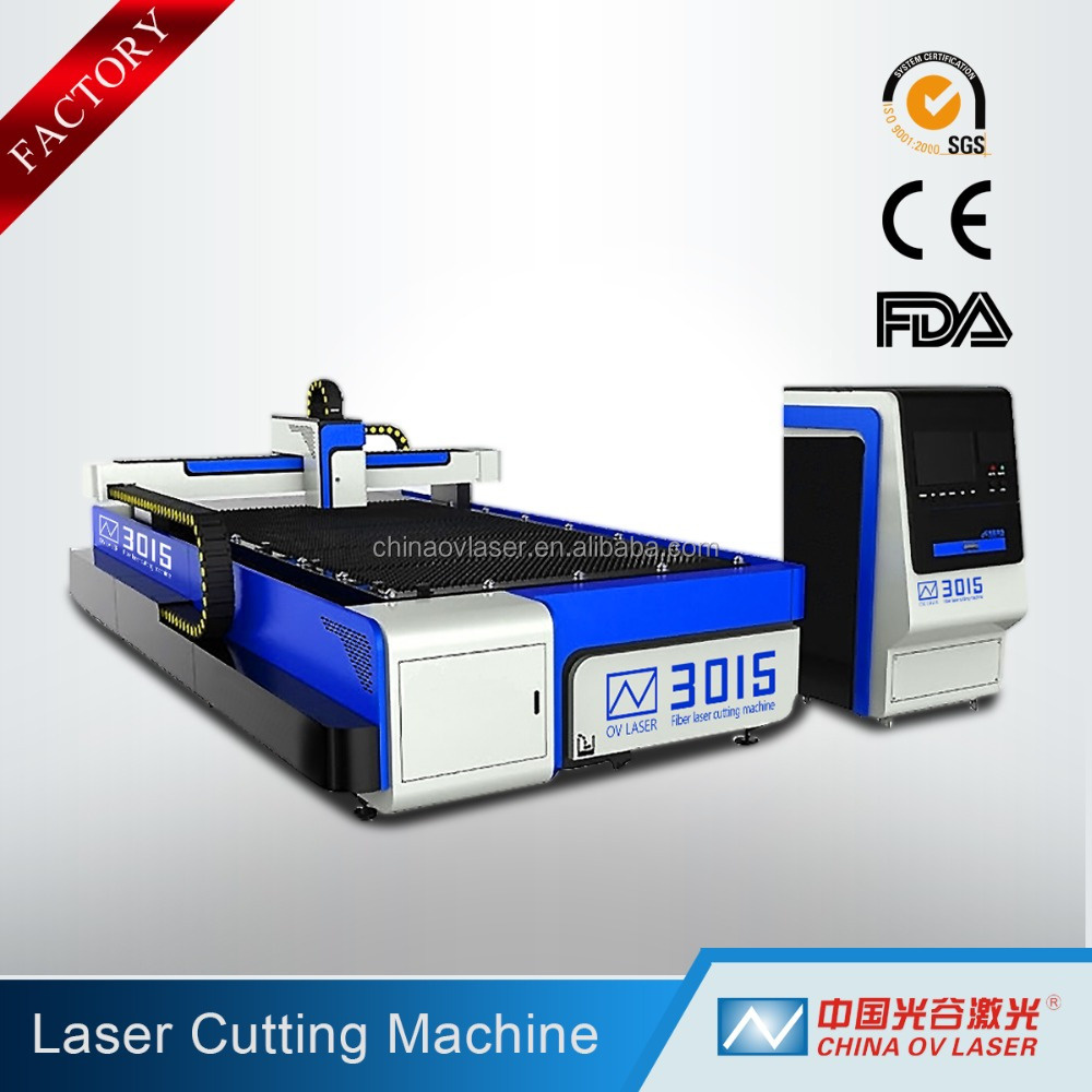 new Reasonable China 500W 800W 1000W 2000W CNC Metal Steel Structure Aluminum Laser industrial machine for metal Cutting