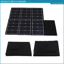 portable solar cell panel 240w sunpower solar charger folding