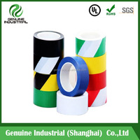 Security Strong Adhesive PVC Warning Barrier Sticky Floor Tape 48mm*33M