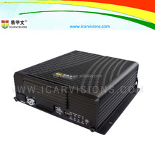 4CH Car HD Mobile DVR 3G Real Time GPS Location Tracking