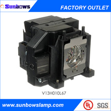Sunbows spare parts replacement competible projector Lamp Fit For Powerlite Epson projector ELPLP67/ V13H010L67