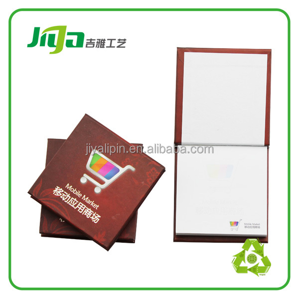 memo pad sticky notes/ fridge magnet note pad with pen