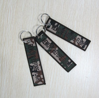 Fashion camouflage flight keychain wholesale
