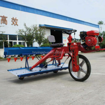 2016 Profesional Manufactured Gasoline Engine With Fertilizer Application Paddy Field Rice Seeder