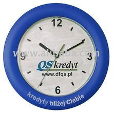 Promotional plastic wall clock 11""