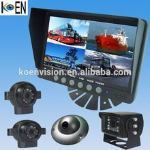 Koen 7 Inch LCD Monitor IP69K Bus/Trailer/Truck/Forklift CCD 24V Rear View Camera System