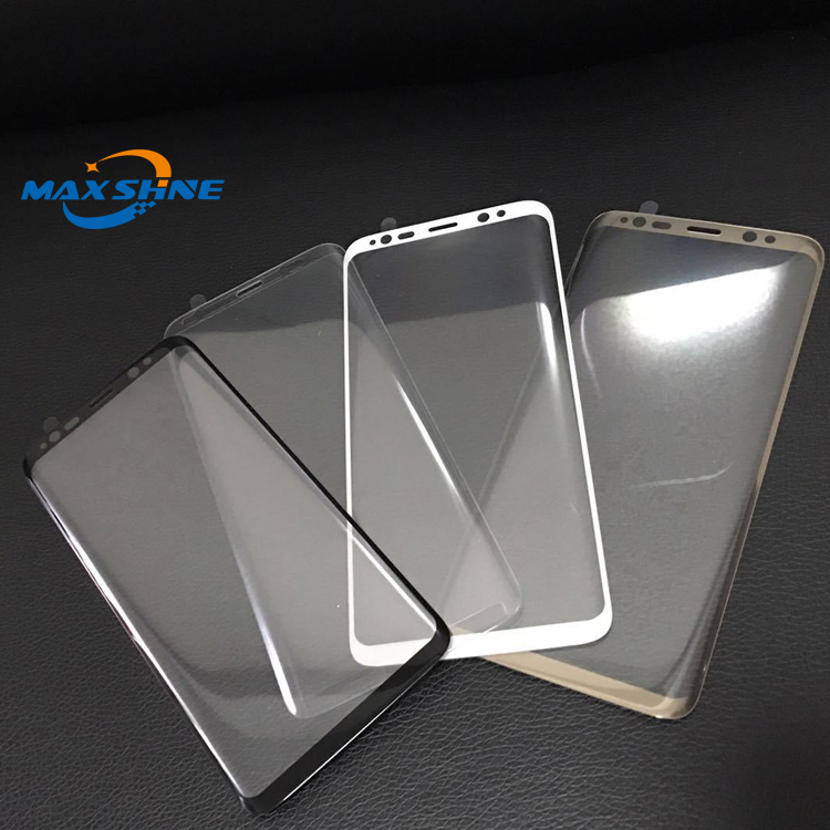 For samsung galaxy s7 s8 edge 3d tempered glass screen protector