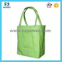 Cheap non woven 6 bottle wine bag with dividers guangzhou factory carrier