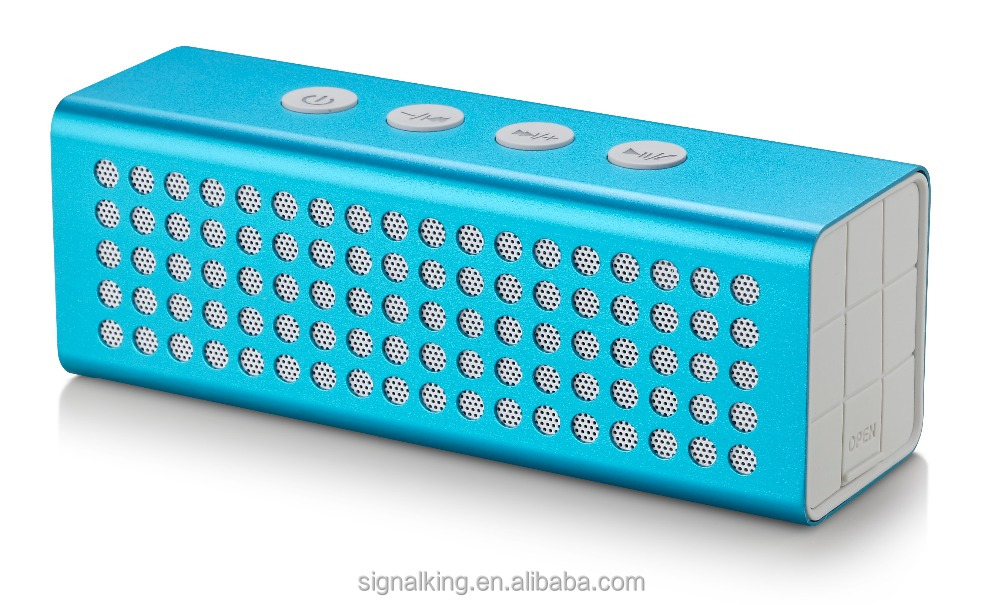 High Quality High Power 20W Portable bluetooth speaker Power Bank Bluetooth Speaker 4400mAh TF AUX aluminium alloy