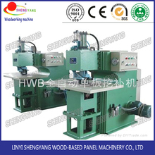 Automatic core veneer patching machine
