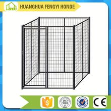 large outdoor galvanized chain link dog kennel design