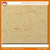 Chinese Good Quality Manufacturer Beige Colors Artificial Stone Marble