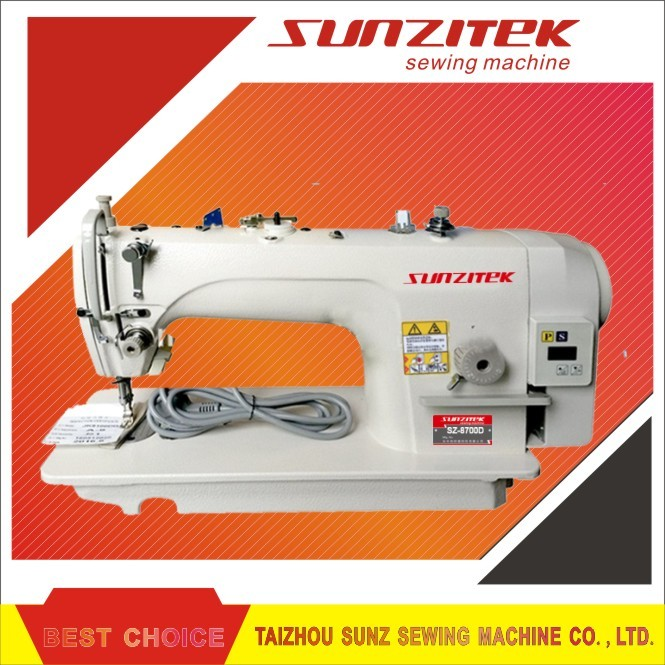 Direct drive lockstich industrial sewing machine SZ8700D