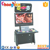 "Classical HD Arcade Cabinet Fighting Game Machine Double Player 32"" High Configuration"