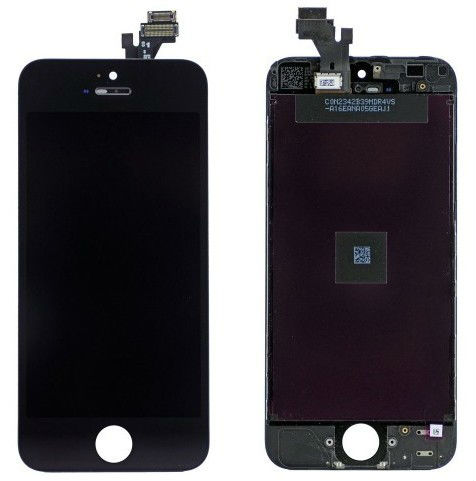 Replacement LCD Touch Digitizer Glass Screen Assembly For iPhone 5