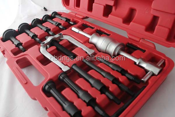 16pc blind hole pilot bearing puller internal extractor removal set
