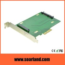 High Performance PCI-E to SFF-8639 Adapter
