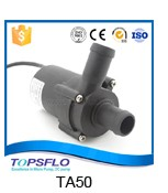 Centrifugal 12v dc water pump for hot water
