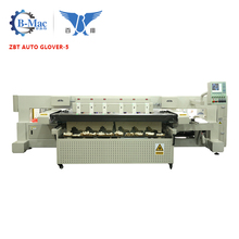 high speed low price ZBT AUTO GLOVER-5 laser cutting jacquard hand glove knitting machine price