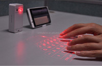 High quality foldable wireless mouse laser keyboard, mini bluetooth mouse wireless laser keyboard for promoting gift