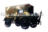 Military factory military quality cummins Portable generator with wheels