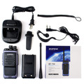 New Black Walkie Talkie BAOFENG T88 UHF 400-480MHz 8W VOX FM Radio Monitor Scan Two Way Radio Professional Transceiver