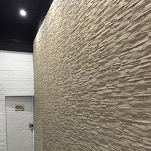 foam rock panels fake stone wall