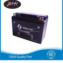 best sell motorcycle battery with optimized design