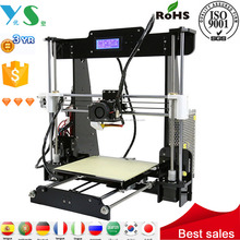 New technology products digital printer abs plastic reprap 3d printer prusa i3 printer 3d prusa machinery kit printing low price
