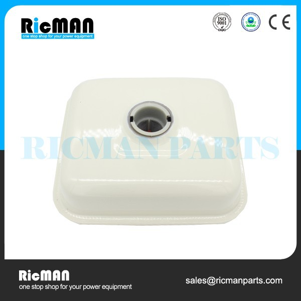 Small Engine Replacement Parts White 9hp 4 cycle engine GX270 Fuel Tank
