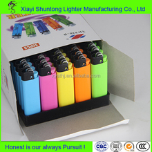 Factory custom bulk cheap plastic gas disposable cigarette cricket lighter wholesale