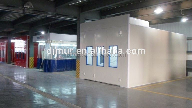 high quality powder coating chamber system/automotive repair equipment with CE approved/spraying and baking oven