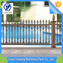 Eco Friendly White Color Colored Retractable Pool Fence