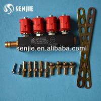 CNG/LPG 4cyl fuel injector rail