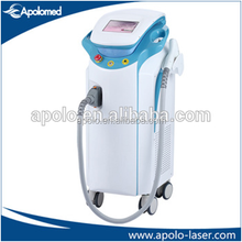 Apolomed 808nm diode laser permanent hair removal 1600W big spot size