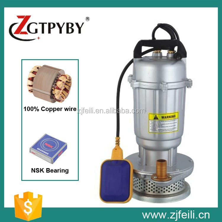 QDX 1 hp Motor Submersible Water Pump Fountain Pump