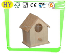 wholesale unfinished wood carved bird houses