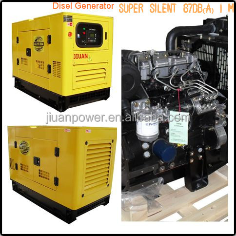 CDP15KVA Guangzhou Popular Good price for Electric Power Silence Diesel Generator Powered by UK engine 403D-15G Diesel Generator