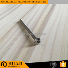 Stainless steel m4 pan head screw standard length